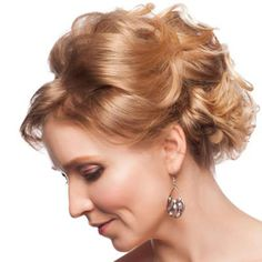 Short curly updo hairstyles for mother of the bride - Cool & Trendy Short Hairstyles 2014