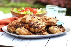 I love Thai peanut sauce but it usually contains added sugar. So for this Thai Peanut Grilled Chicken I've...