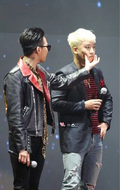 Cute #nyongtory #gd #seungri #bigbang