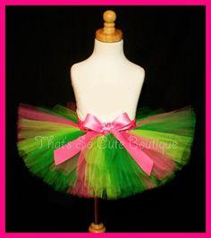 Green and Pink Tutu