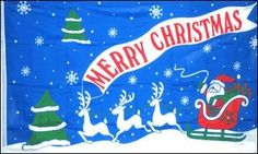 NEOPlex 3' x 5' Holiday Flag - Merry Christmas by NEOPLex. $6.95. This 3 x 5 foot business message advertising flag is made from super polyester that is durable, yet lightweight enough to fly in even the lightest breeze. It has 2 brass grommets firmly attached to heavy canvas on the inner fly side. Bright, vivid colors and colorfast to reduce fading. Many titles to choose from.