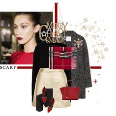 How To Wear Merry Christmas and Happy Holidays! Outfit Idea 2017 - Fashion Trends Ready To Wear For Plus Size, Curvy Women Over 20, 30, 40, 50