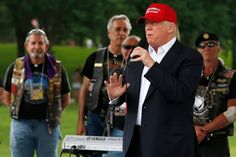 Draft Dodger Donald Trump Gets Hero's Welcome at Rolling Thunder