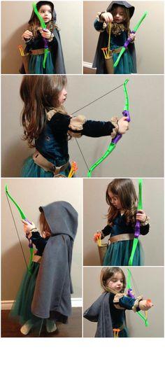 Merida Costume for kids. https://www.facebook.com/MommyCanSew