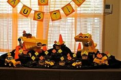 Construction party ideas by ava