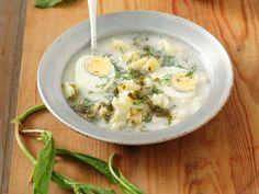 Suppe mit Sauerampfer, Kartoffel und Ei ist ein Rezept mit frischen Zutaten aus der Kategorie Blattgemüse. Probieren Sie dieses und weitere Rezepte von EAT SMARTER!