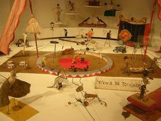 Alexander Calder Circus- This completely changed my life when I was five years old. Thank you Mom, for taking me to The Whitney. -Abigail   http:// www.readingswithabigail.com