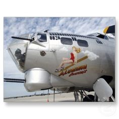 B-17 Nose Art. I love this plane. Got to fly in it from Ankeny Ia. to Sioux City a few years ago. The pilot was a B17 pilot in WWll and retired from flying the next year. Awesome experience!