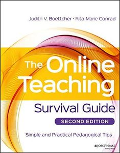 Pdf Download The Online Teaching Survival Guide Simple And