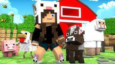 Minecraft: O MISTÉRIO #13 - UM EMPREGO NA FAZENDINHA?