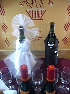 Bridal Shower wine-themed decor. Cute!