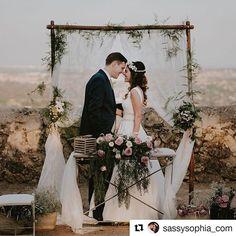 """""""#Repost @sassysophia_com (@get_repost) ・・・ Our wedding was everything we could have wished for, and more. Thanks to everybody who made it possible ❤️photography by @joshdevotto wedding planning and decor by @nuages_weddingplanner #newlyweds #wedding #weddingphotography #madrid #bohochic #bohowedding #ido #inlovewithhim #marriedmybff #IñigoySofía . . . Nuestros novios bonitos con la decoración que les montamos para su boda 😍 unos novios MUY especiales que llegaron como una pareja más que se…"""