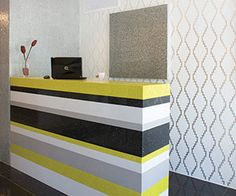 Trend Q from Trend USA - cool idea for a reception desk