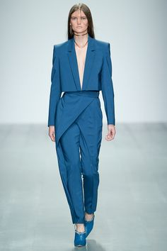 Tailored wrap pants Marios Schwab Spring 2015 Ready-to-Wear - Collection - Gallery - Look 4 - Style.com