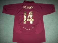 2005 2006 Arsenal Henry Adults Medium Football Shirt France Top 61d155e5e8722
