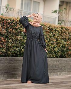 @nabilahcil Hijab Dress, Bridesmaid Dresses, Wedding Dresses, Cold Shoulder Dress, Outfits, Fashion, Bridesmade Dresses, Bride Dresses, Moda