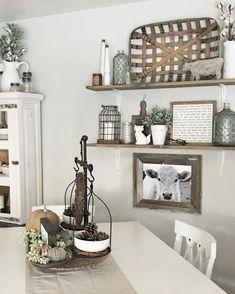 Farmhouse Style Dining Room Table and Decor Ideas (13)
