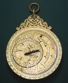 Arabian astrolabe dating back to 1291 ~ blown away by the design..