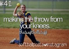Softball. even better when you actually get it to the destination.....I did that the other day...