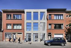 New Architecture, Contemporary Architecture, Multipurpose Hall, Glazed Brick, Covered Walkway, Staff Room, Masonry Wall, Community Space, Precast Concrete