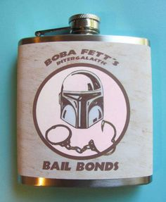 Flask - Boba Fetts Intergalactic Bail Bonds - Version Two