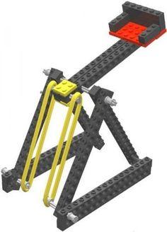 Billedresultat for lego catapult rubber band