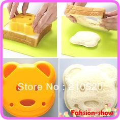 1 Piece Little Bear Shape Sandwich Mold Bread Cake Mold Maker DIY Mold Cutter Craft Wholesale+Free Shipping-in Cake Molds from Home & Garden on Aliexpress.com