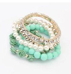 Nene's Simulated Pearl Beads Bracelet For Mom's
