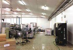 Enfriador Evaporativo - Port-A-Cool: Climatización nave industrial linea de producción