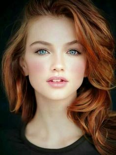 Maintaining red hair can be a challenge, for both natural and dyed redheads alike. With that in mind, here are some of the best hair products for redheads, recommended by professional colorists! Beautiful Red Hair, Gorgeous Redhead, Beautiful Eyes, Beautiful Girls Face, Beautiful Women, Most Beautiful Faces, Pretty Face, Red Hair Woman, Lady Hair