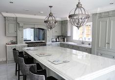 The ultimate kitchen splashback with TV concealed within! Living Area, Living Spaces, Mirror Tv, Tv In Kitchen, Hidden Tv, Framed Tv, Splashback, Tv Unit, About Uk