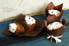 Pumpkin Cupcakes / Cupcakes de Abóbora