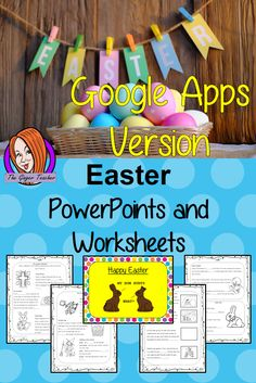 Easter PowerPoint and Worksheets teach children about the religious celebration of in one complete lesson. Detailed 30 slide PowerPoint on the celebrations fun traditional facts details about how it is celebrated, information about the Easter story and information about how the date is calculated. Differentiated 8 page worksheets so students demonstrate understanding great for teaching kids all about this religious celebration in your classroom. #teaching #easter #googleclassroom Teaching History, Teaching Kids, Easter Story, Bible Stories, Google Classroom, English Lessons, Teacher Newsletter, Primary School, Teaching English