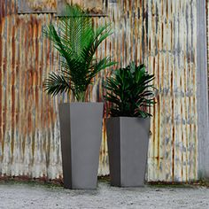 Planters Perfect Tapered Metal Planter Metalplanters Taperedplanters Aluminumplanters