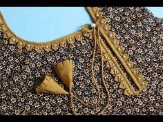 Churidhar Neck Designs, Neck Designs For Suits, Sleeves Designs For Dresses, Stylish Dress Designs, Neckline Designs, Fancy Blouse Designs, Blouse Neck Designs, Hand Designs, Punjabi Suit Neck Designs