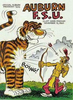 Legacy Auburn vs. FSU program cover