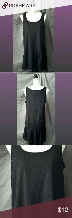 NWOT Women's Medium Fab Fit Shift Dress Very cute, black color, shift dress.  New without tags, never worn.  Loose fit... size runs Big! Fab Fit Dresses Midi