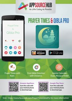 Check Out on Google Play Prayer Time and Qibla Pro App