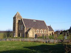 St Paul's church Branxton -the site of the Battle of Flodden