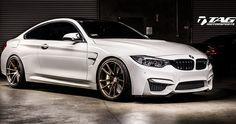 TAG Motorsports Alpine White BMW M4