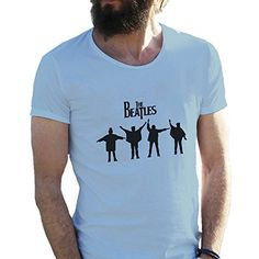 The Beatles Rock Kings 2016 Azul claro Camiseta para hombre XX Large #camiseta #friki #moda #regalo