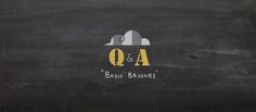 The first Q&A post about what kind of brushes I used and the basic steps of  how I paint.