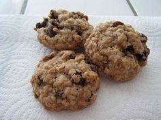 Soft Oatmeal Rasin Cookies