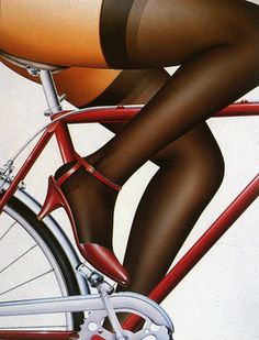 get in shape bike poster