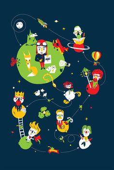 Les planètes du Petit Prince                                                                                                                                                                                 Plus