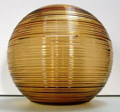 Imperial Reeded Line 701 Ball Vase  6 Inch  by SellingOldThings, $20.00