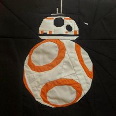 Free Pattern To Make A BB- 8 Droid Star Wars Quilt – Needle Work