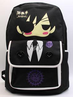 Schwarz Butler Anime Tasche - cosplayshow.com