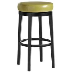 Behold the Stratmoor—a sleek swivel bar stool with dizzying good looks. When someone orders another round from this plush faux-leather perch, it means one of two things: They want another drink. Or they want to take another spin on the stool. Not recommended: Both