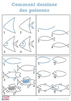 dessiner des tas de poissons Love is in the air so let's spread it with this adorable Valentine's Day Agamograph Template (printable PDF included). This paper craft is super popular with kids. Tropical Fish Pictures, Crafts For Seniors, Crafts For Kids, Folk Art Fish, Ocean Drawing, Animal Doodles, Art Lessons For Kids, Rainbow Fish, Creative Lettering